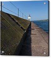 Two Harbors Mn Pier Light 15 Acrylic Print
