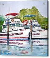 Two If By Sea Acrylic Print by Jeff Lucas