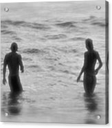Two In The Ocean Acrylic Print