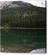 Two Jack Lake Sunset - Banff Nat. Park, Alberta Acrylic Print