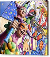 Two Jesters Acrylic Print by Caitlyn  Grasso