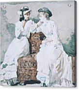 Two Ladies Acrylic Print