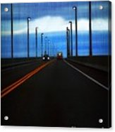 Two-lane Blacktop Acrylic Print