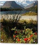 Two Medicine Lake In Glacier Acrylic Print