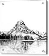 Two Medicine Mountain Acrylic Print