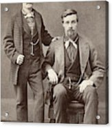 Two Men, 19th Century Acrylic Print
