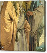 Two Men In Oriental Costume Acrylic Print