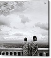 Two Monks Acrylic Print