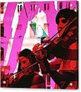 Two Musicians Acrylic Print