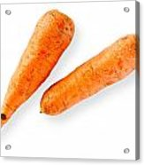 Two Nice Carrots Acrylic Print