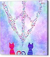 Two Of Hearts Acrylic Print