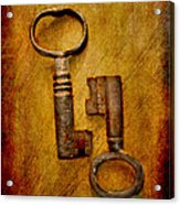 Two Old Keys Acrylic Print