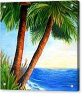 Two Palms Acrylic Print