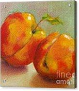 Two Peaches Acrylic Print