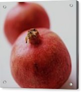 Two Pomegranates Acrylic Print