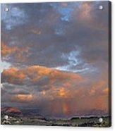 Two Rainbows In Sierra Nevada Acrylic Print