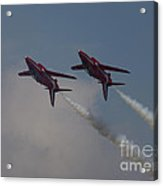 Two Red Arrows Acrylic Print