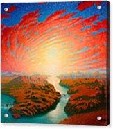 Two Rivers Acrylic Print
