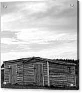 Two Sheds Acrylic Print
