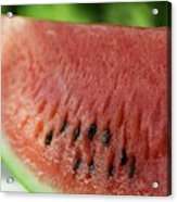 Two Slices Of Watermelon Acrylic Print