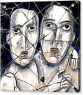 Two Souls - Study No. 1 Acrylic Print