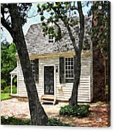 Two Tree Cottage Acrylic Print