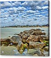 Tybee Beach Acrylic Print