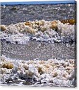Tybee Waves Acrylic Print