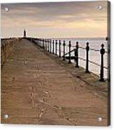 Tynemouth North Pier Acrylic Print