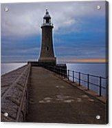 Tynemouth Pier Lighthouse Acrylic Print