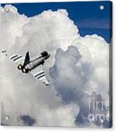 Typhoon Fighter  Acrylic Print
