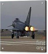 Typhoon Launch Acrylic Print