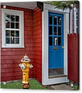 Typical Rockport Massachusetts Acrylic Print