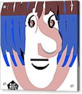 Typortraiture Ringo Starr Acrylic Print