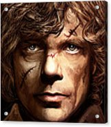 Tyrion Lannister - Peter Dinklage Game Of Thrones Artwork 2 Acrylic Print