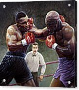 Tyson/holyfield Acrylic Print