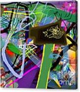 Tzaddik 6g Acrylic Print