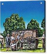 U. G. Earp And Family Acrylic Print