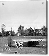 U. S. Air Force Glider That Landed Acrylic Print