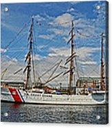 U S C G Barque Eagle Acrylic Print