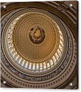 U S Capitol Rotunda Acrylic Print by Steve Gadomski