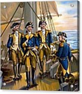 U S Navy Commander In Chief Of The Fleet Acrylic Print by The Werner Company