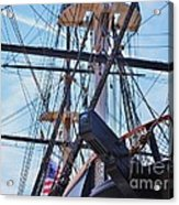 An Aspect Of The U S S Constellation, Baltimore Acrylic Print