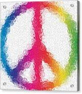 Uber Peace Acrylic Print