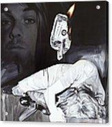 #uck Fame Acrylic Print