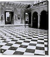 Udaipur Royalty Acrylic Print