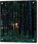 Udell Sunset Acrylic Print