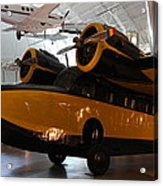 Udvar-hazy Center - Smithsonian National Air And Space Museum Annex - 1212100 Acrylic Print