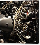 Udvar-hazy Center - Smithsonian National Air And Space Museum Annex - 121216 Acrylic Print