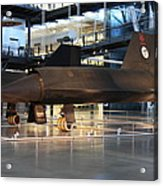 Udvar-hazy Center - Smithsonian National Air And Space Museum Annex - 121229 Acrylic Print by DC Photographer